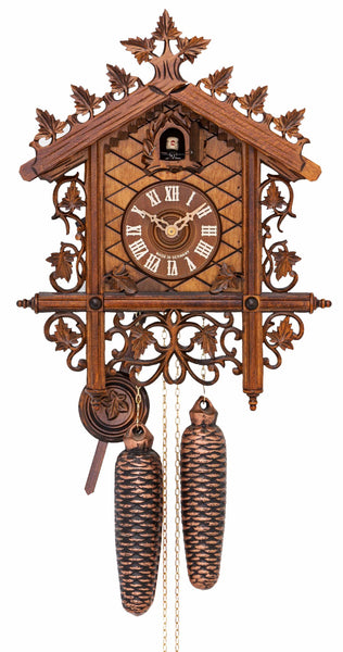 Cuckoo Clock 1885 Replication Clock 8-Day Movement - Cuckoo Clock Meister