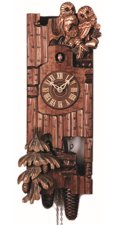 Cuckoo Clock The Two Owls 8-Day Movement - Cuckoo Clock Meister