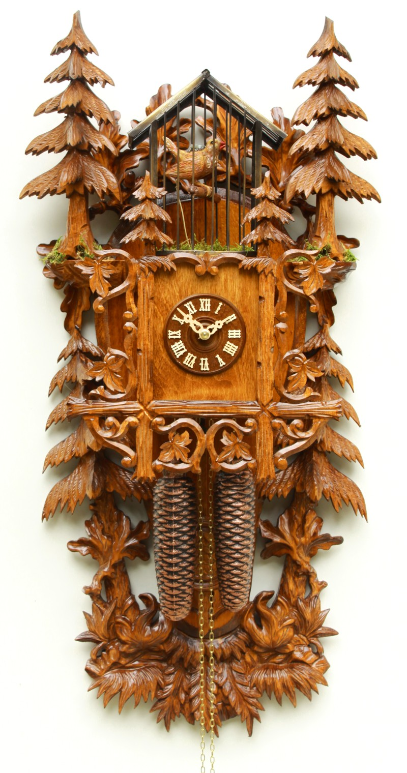 Cuckoo Clock Christmas Trees 8-Day Movement - Cuckoo Clock Meister
