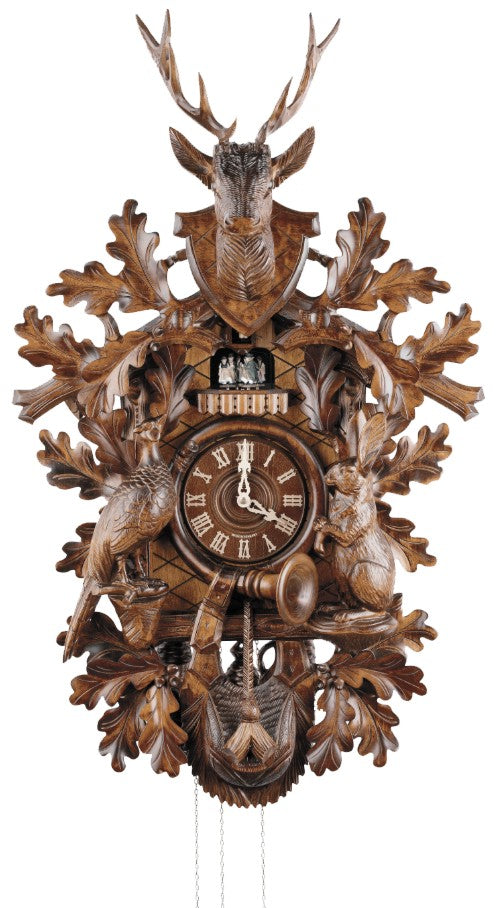Cuckoo Clock Hunting Clock 8-Day Movement with Music - Cuckoo Clock Meister
