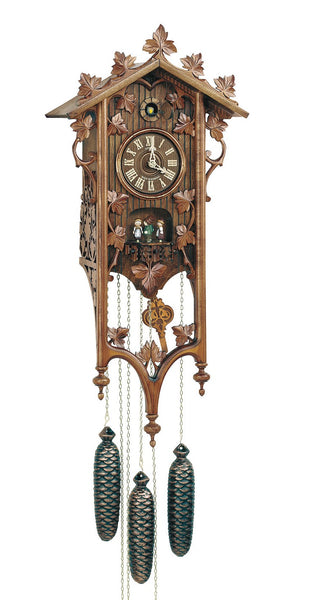 Cuckoo Clock 1885 Replication Railroad House 8-Day Movement Music