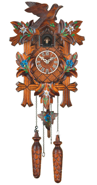 Quartz Cuckoo Clock Five Leaves and Bird by Trenkle
