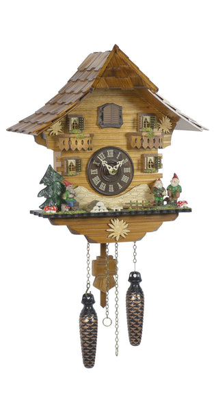 Quartz Cuckoo Clock Black Forest House by Trenkle - Cuckoo Clock Meister