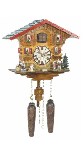 Quartz Cuckoo Clock Swiss House with Music