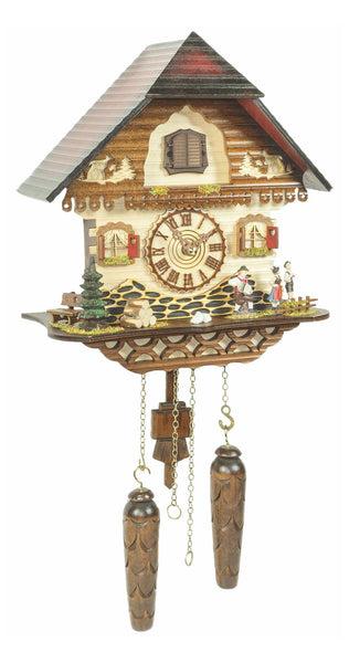 Quartz Cuckoo Clock Black Forest House with Music by Trenkle - Cuckoo Clock Meister