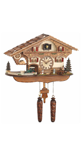 Quartz Cuckoo Clock Swiss House with Music - Cuckoo Clock Meister