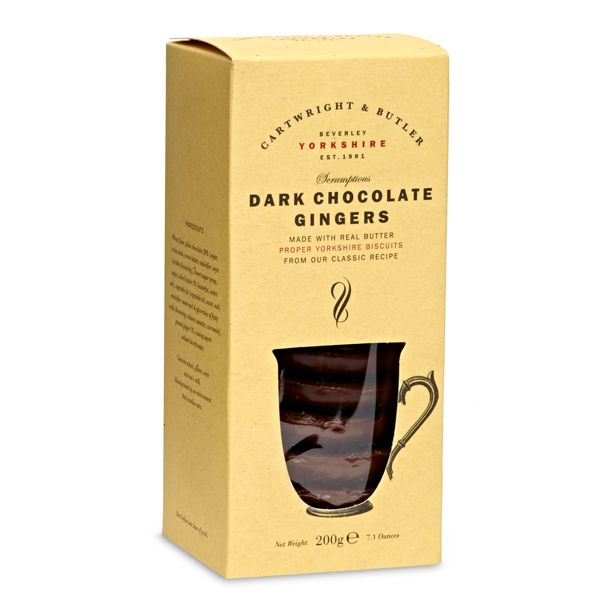 C&B Dark Chocolate Gingers