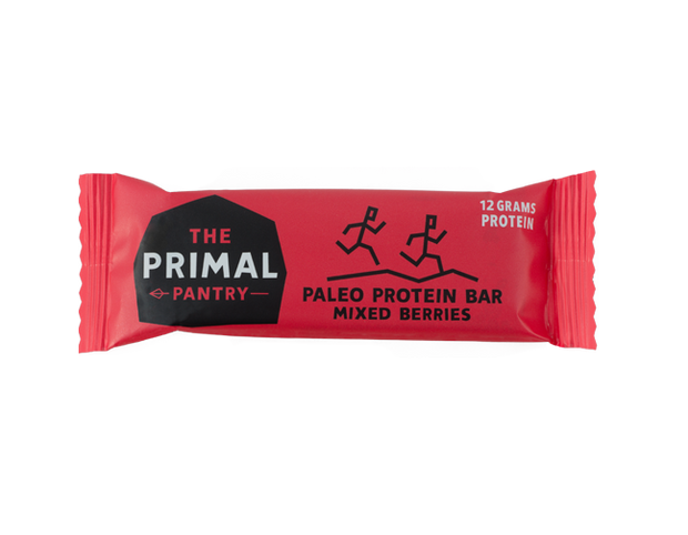 Mixed berries Primal Pantry paleo protein bar 55g