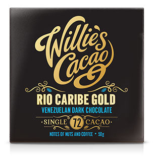 Willie's Cacao Rio Caribe Gold 72 Venezuelan Dark Chocolate