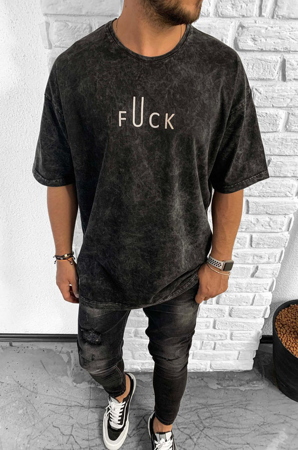 OVERSIZED FUCK T-SHIRT