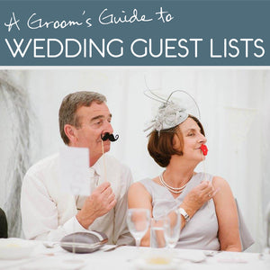 Groom's guide to the wedding guest list