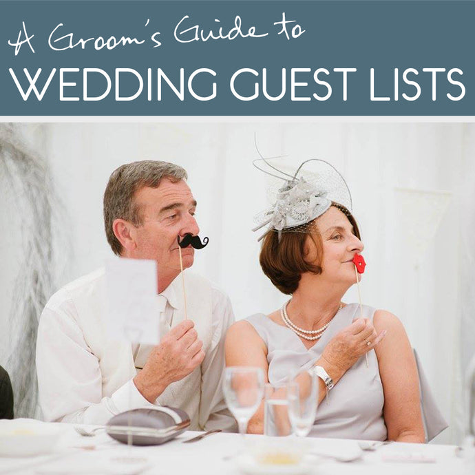 How to agree on a wedding guest list with your bride