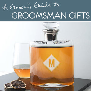 Groom's guide to groomsman gifts