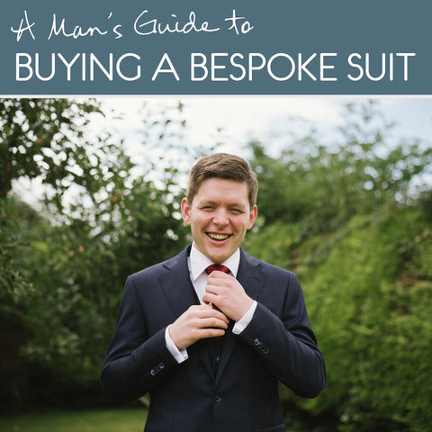 A man's guide to buying your first bespoke suit