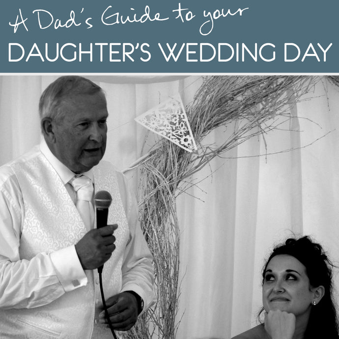 Six steps to help you sail through your daughter's wedding