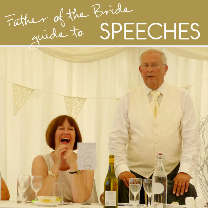 Foolproof tips for the father of the bride speech