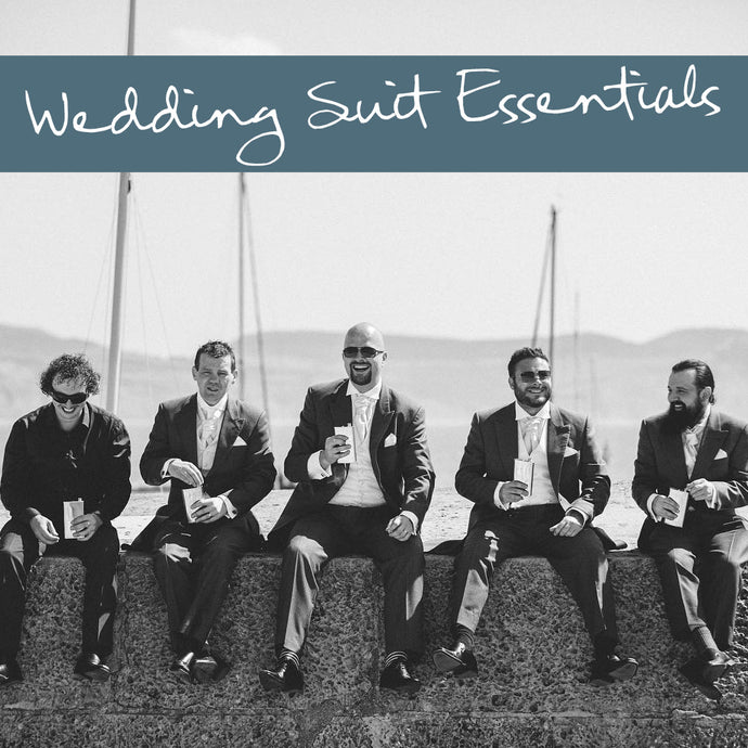 The essential guide to wedding suits