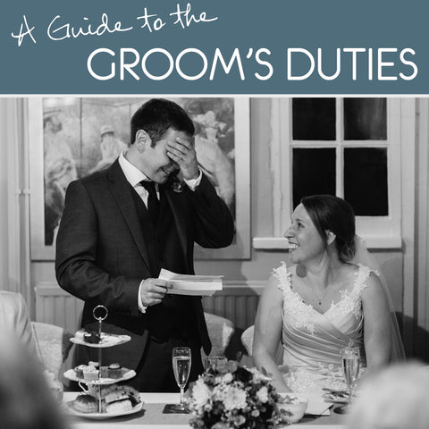 Must remember: The ultimate groom to-do list!