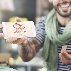 Using social media for your wedding