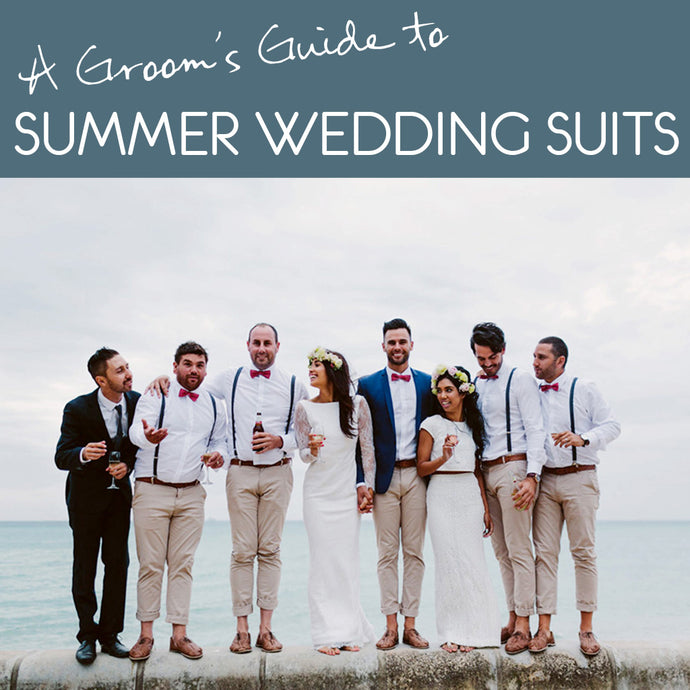 6 of the best summer wedding styles for grooms