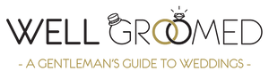 Well Groomed - A Gentleman's Guide To Weddings - Logo