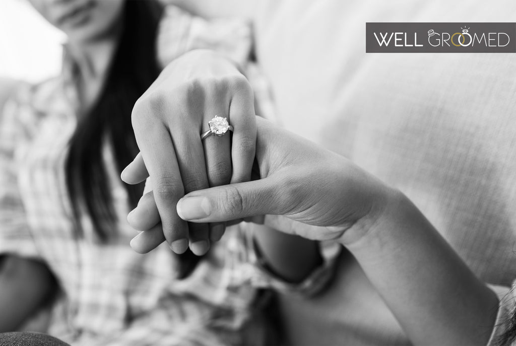 How to find out ring size without her knowing