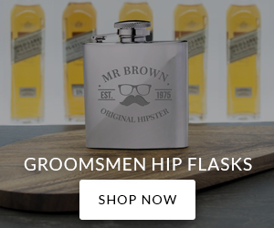 Groomsmen Flasks - Shop Now