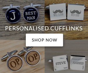 Personalised Cufflinks - Shop Now