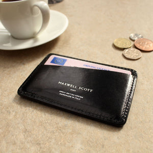 Card Holder - Leather Credit Card Case