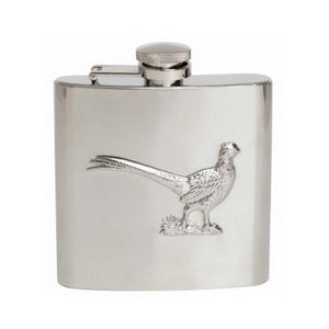Hip Flask - Embossed Pheasant Hip Flask