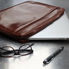 Laptop Sleeve - Leather Laptop Case 17 Inch