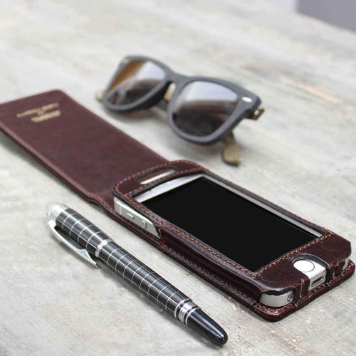 Phone Case - Leather IPhone 4/4S Flip Case