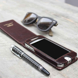 Phone Case - Leather IPhone 5/5S Flip Case