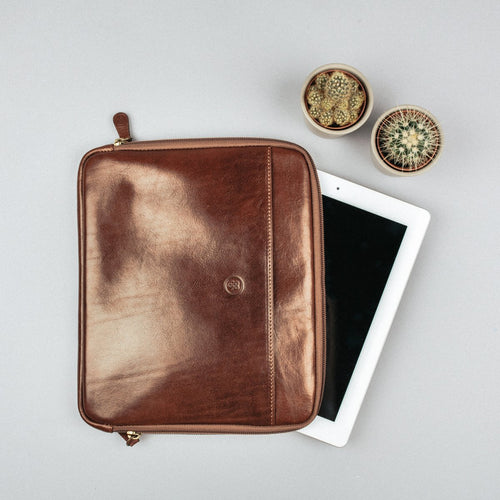 Tablet Case - Leather Tablet Sleeve