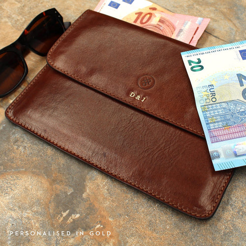 Travel Wallet - Leather Travel Wallet