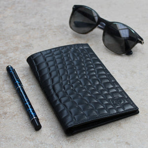 Wallet - Gent's Mock Croc Leather Jacket Wallet