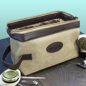 Wash Bag - Expandable Canvas Wash Bag
