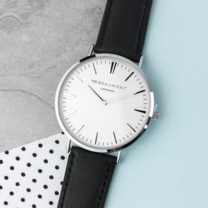 Watch - Men's Vintage Style Personalised Leather Watch
