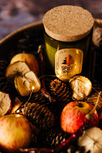 Spiced Apple - Wine Bottle Candle