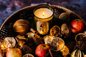 Mulled Wine - Wine Bottle Candle