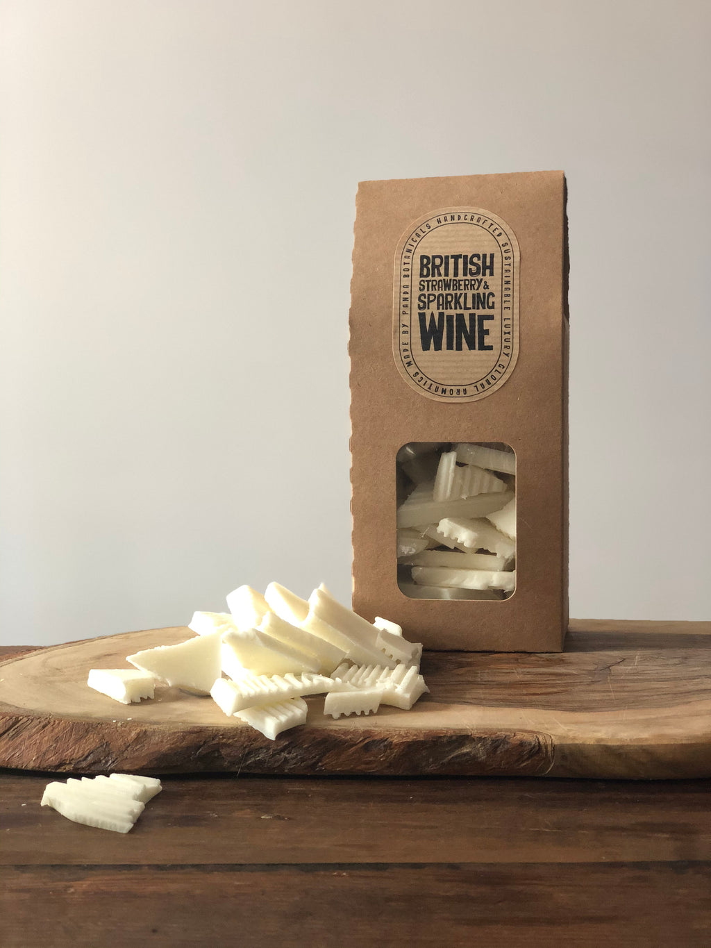 British Strawberry & Sparkling Wine Wax Bark