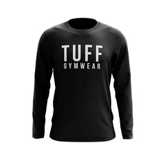 SIGNATURE TUFF GYM WEAR LONG SLEEVE JUMPER BLACK
