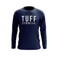 SIGNATURE TUFF GYM WEAR LONG SLEEVE JUMPER NAVY