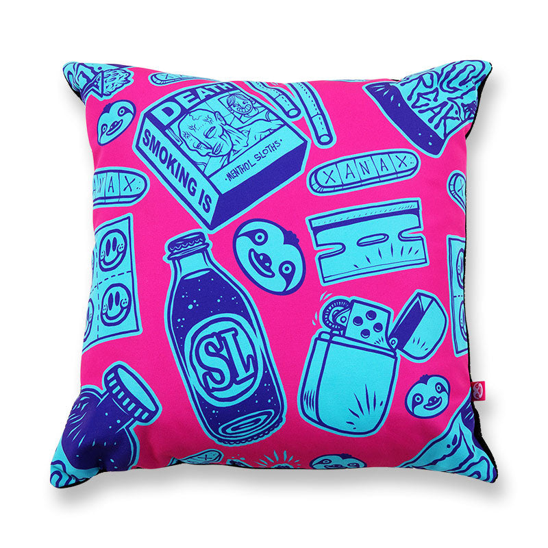 Neon Vice Cushion