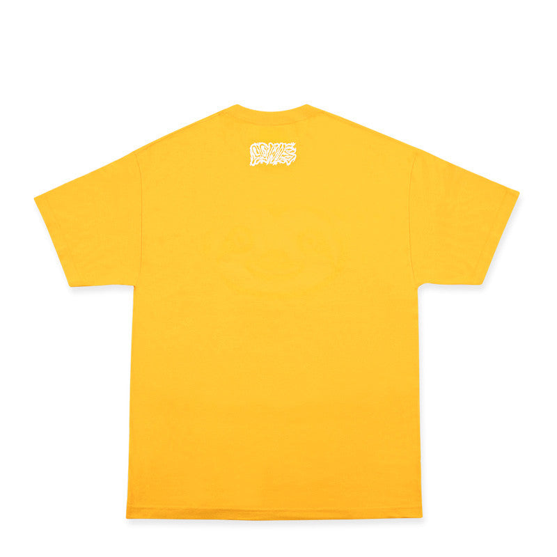 Sloth Face Short Sleeve Yellow