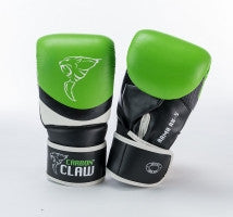 Carbon Claw Arma AX-5 Synthetic Leather Bag Mitts, Size- M / L, Color- Green/... - Completely Fitness