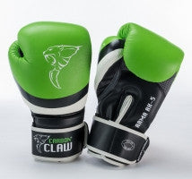 Carbon Claw Arma AX-5 Synthetic Leather Sparring Gloves, Color- Green/Black, ... - Completely Fitness