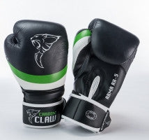 Carbon Claw Arma AX-5 Synthetic Leather Sparring Gloves, Color- Black/Green, ... - Completely Fitness