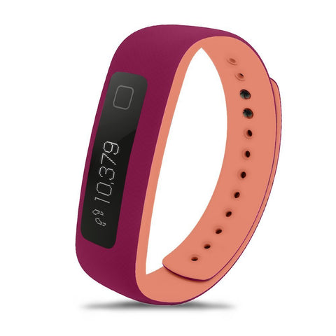 IFACT215 iFit Vue Fitness Tracker Fushia/Orange - Completely Fitness