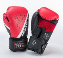 Carbon Claw Impact GX-3 Synthetic Sparring Gloves, Color- Black/Red, Size- 12oz - Completely Fitness
